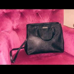 Kate Spade Black Mini Purse
